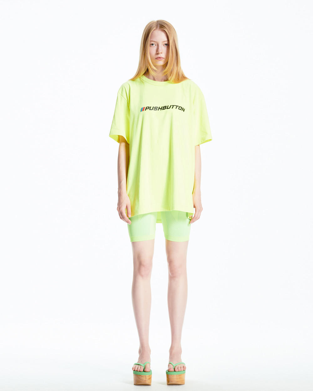 NEON OVER FIT T-SHIRT