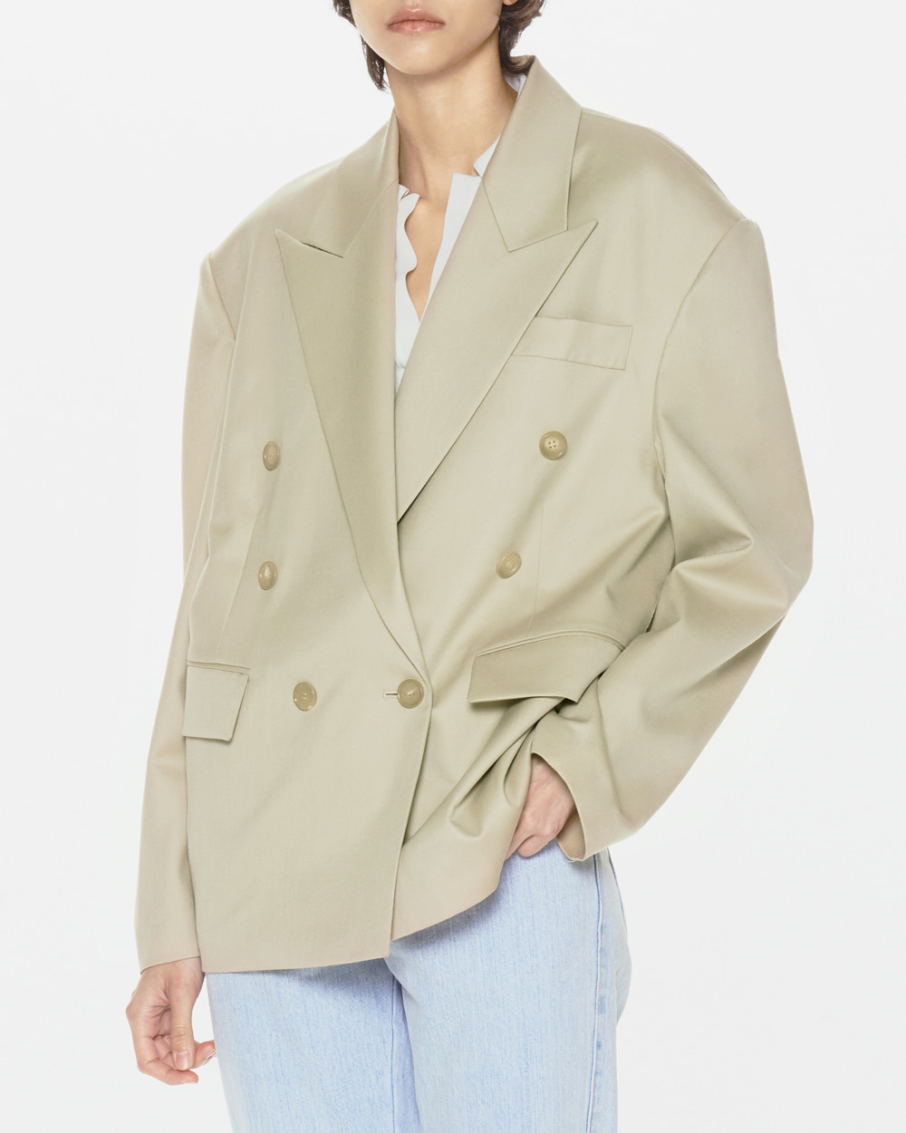 BASIC DOUBLE JACKET