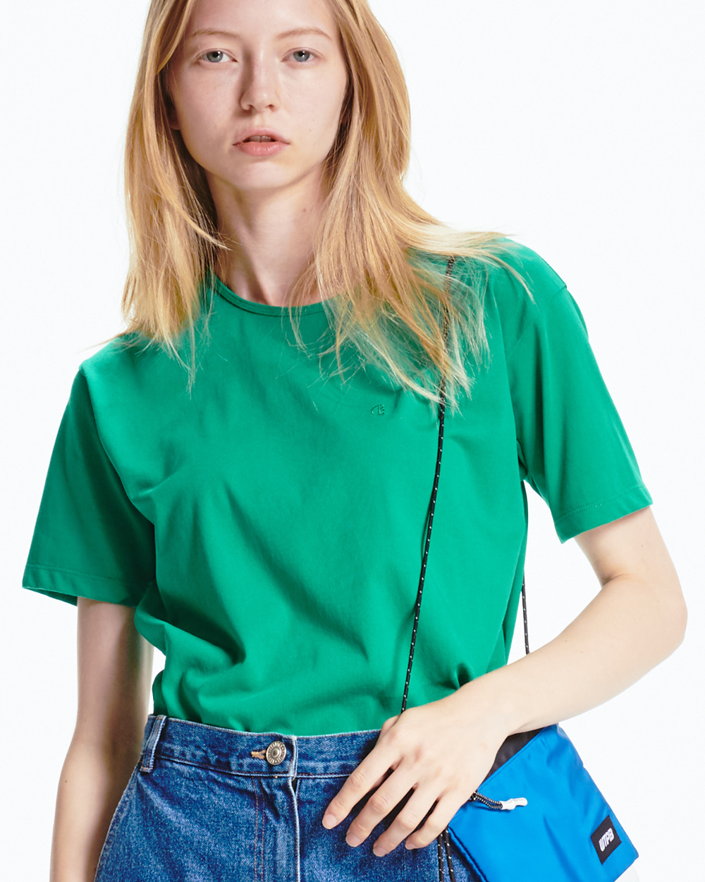 BACK LABEL GREEN T-SHIRT