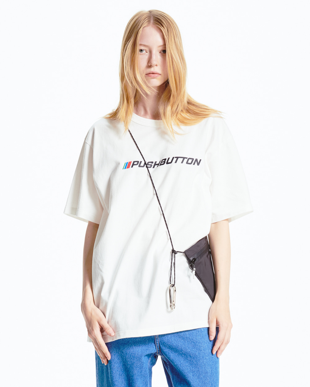 WHITE OVER FIT T-SHIRT
