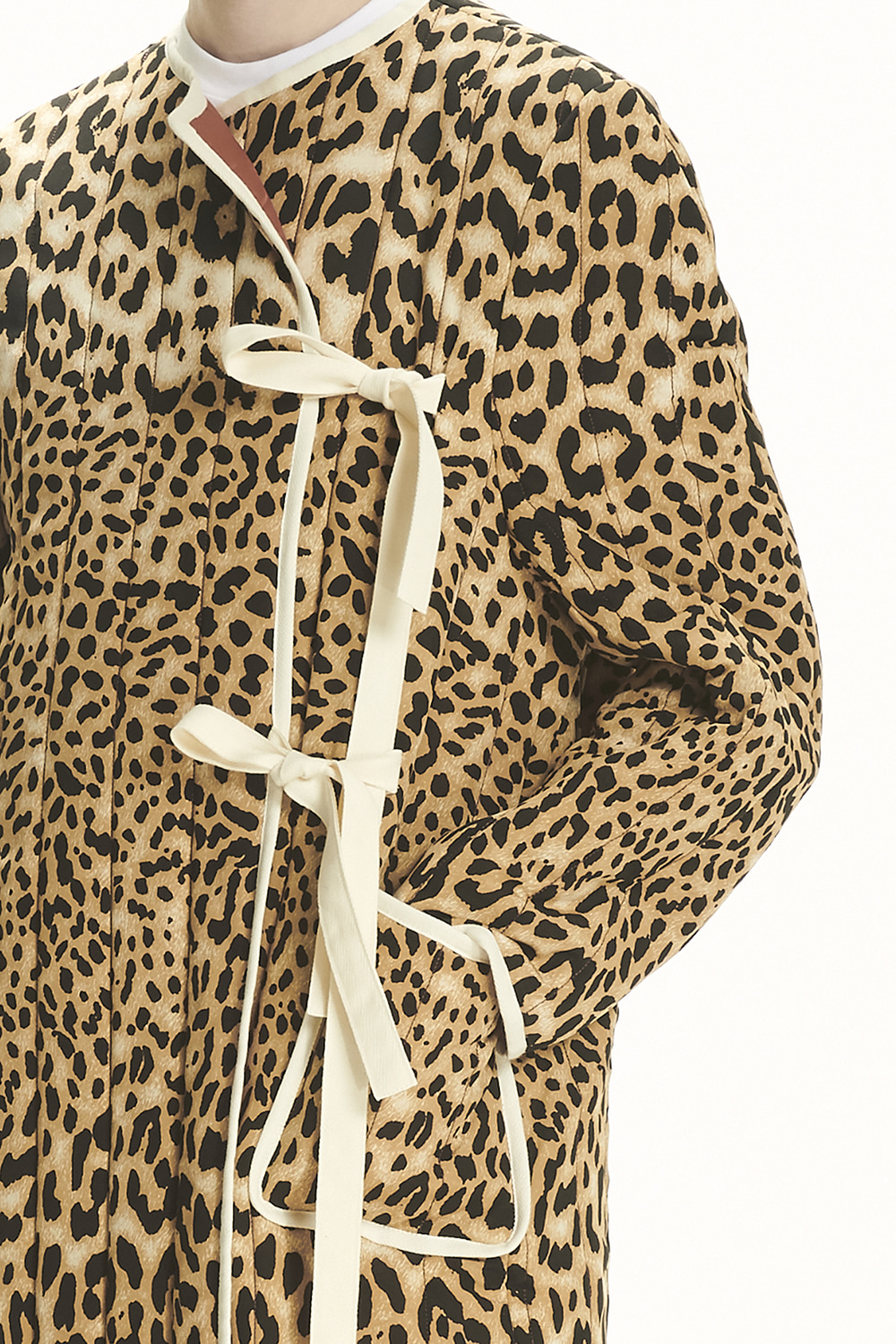 PS21 LEOPARD QUILTED COAT